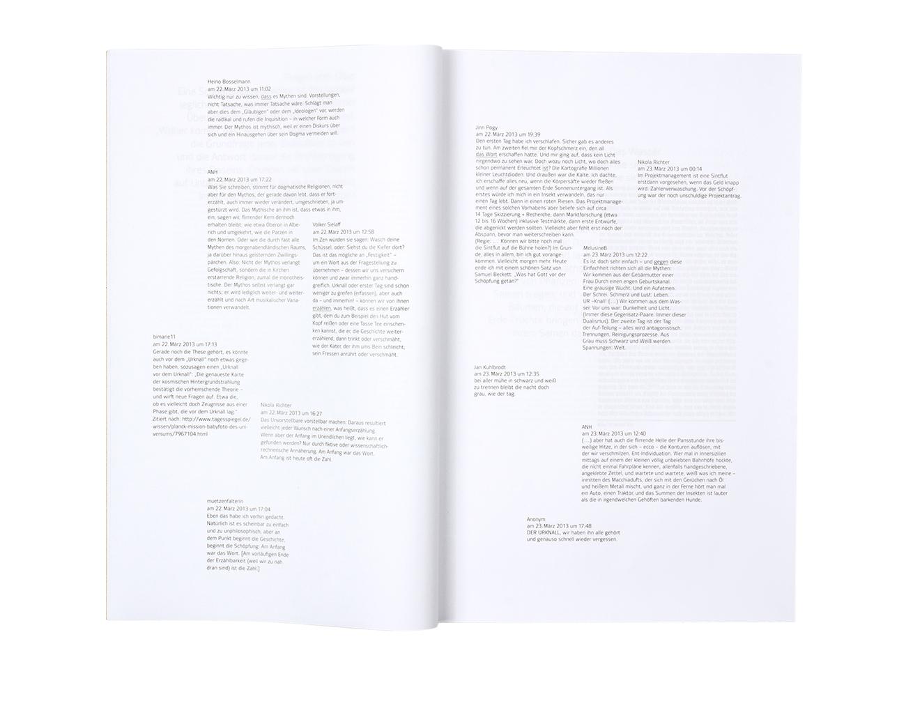 Das Elster Experiment Genesis Bibel E-book Buchgestaltung editorial design Typographie