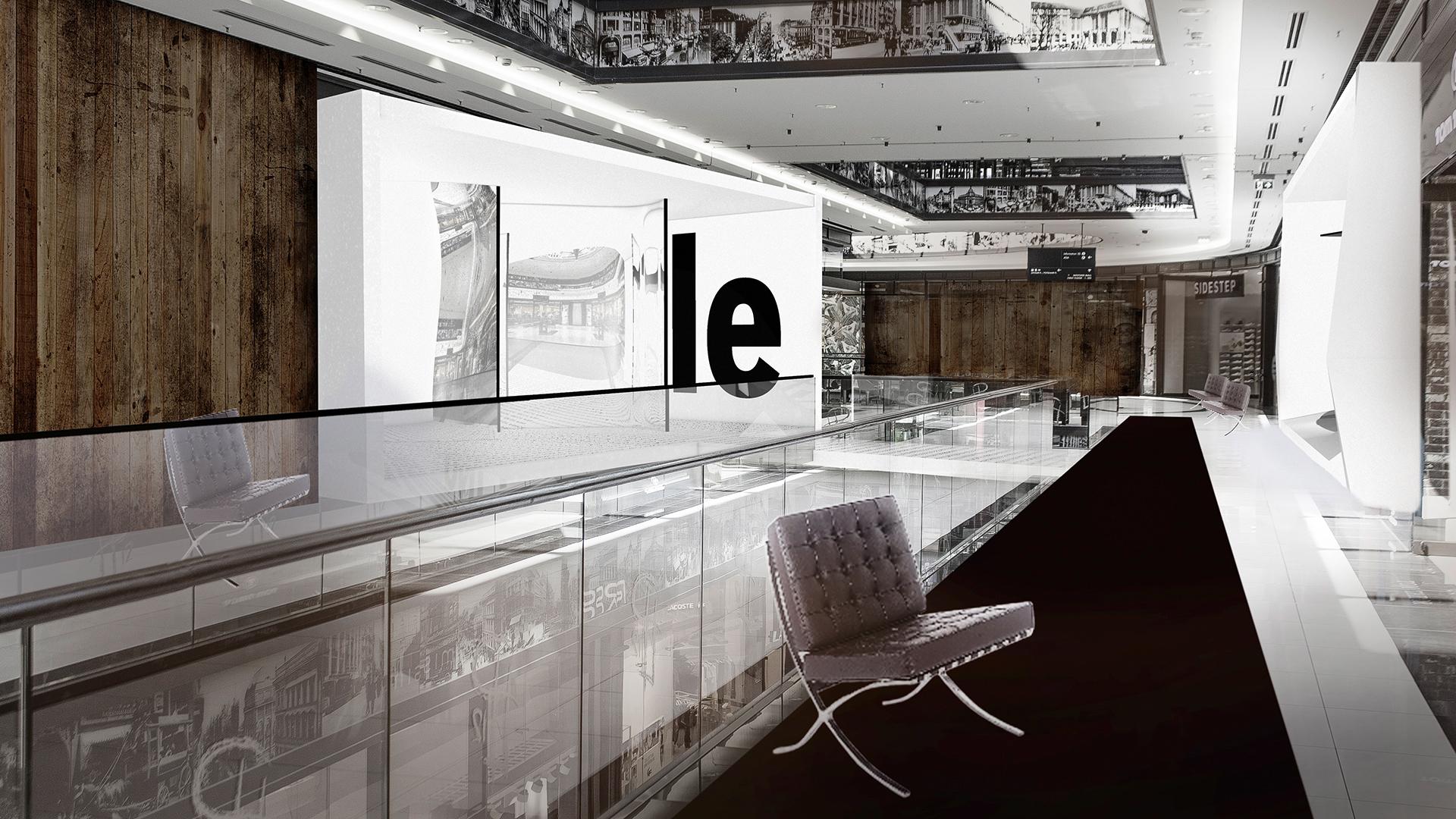 Ausstellung Präsentation Phaneomen Shoppingcenter Raumgestaltung Conceptdesign Inszenierung Reuse Kapitalismus Museum Shopdesign Mall Ausstellung